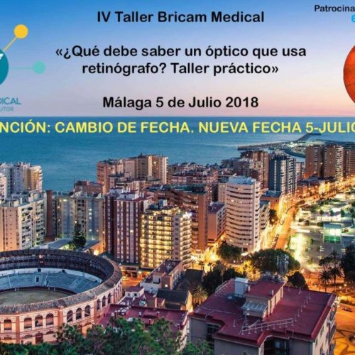IV Taller Práctico BricamMedical Málaga 5 de Julio de 2018