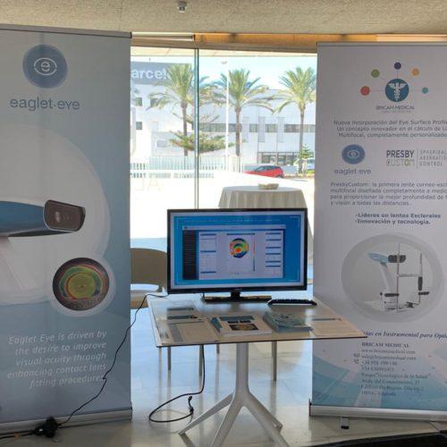 Las Jornadas Científicas Andaluzas sobre la Visión reúnen en Almería a más de 250 profesionales para presentar y debatir los avances de la Contactología